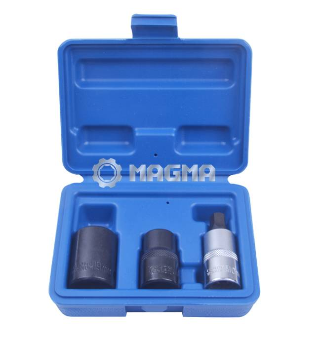 (MG50401)3 Pcs Pentagon Socket Set
