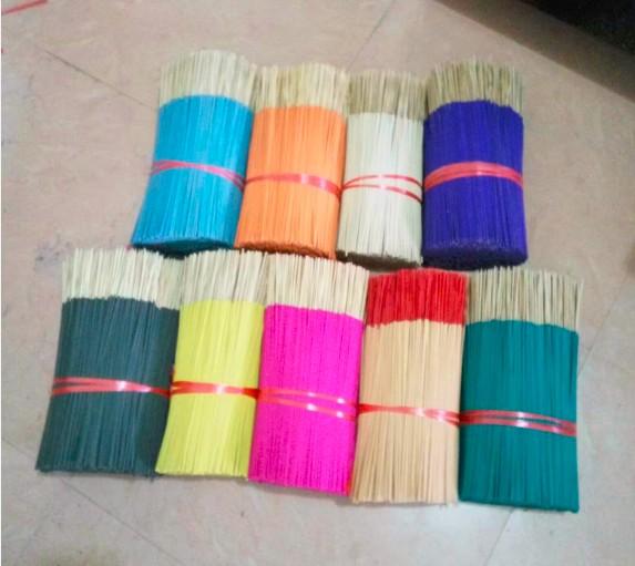 """china made 8""""/9"""" Natural Colored Agarbatti/ Incense"""