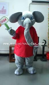OISK Professional custom mascot costume elephant mascot adult size