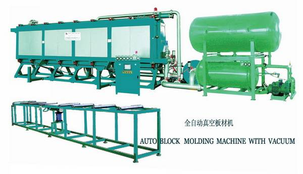 Auto Block Moulding Machine with Vacuum