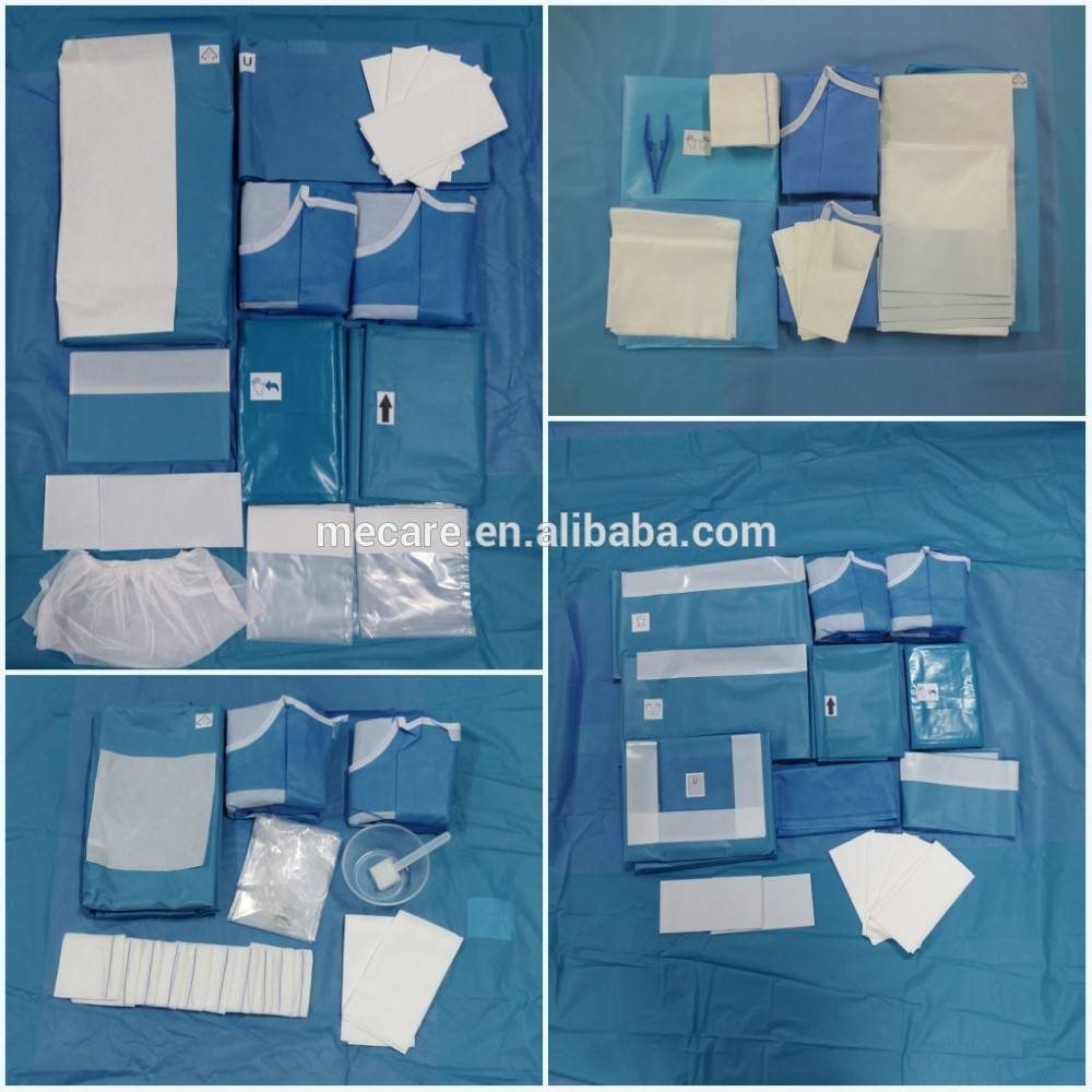Surgical Drape Pack For Angiography