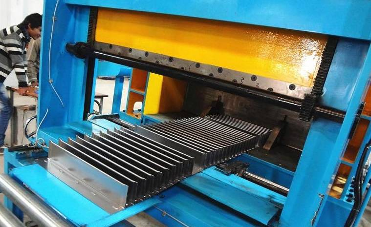 Transformer Corrugated Wall Folding Line