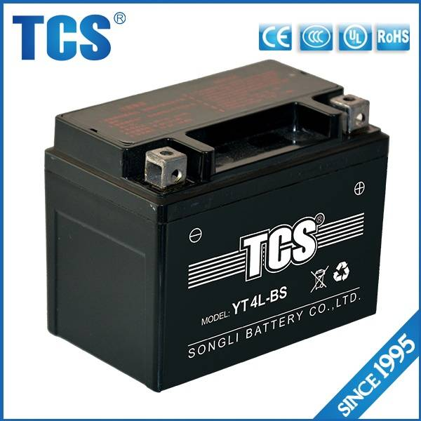 TCS motorcycle battery
