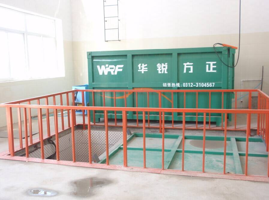 Complete in specifications garbage collection equipment