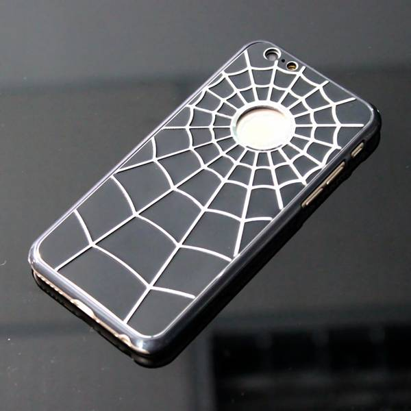 High quality classic Spider-man metal plus PC mobile phone case