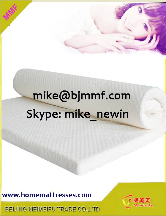 Organic cotton fabric latex mattress