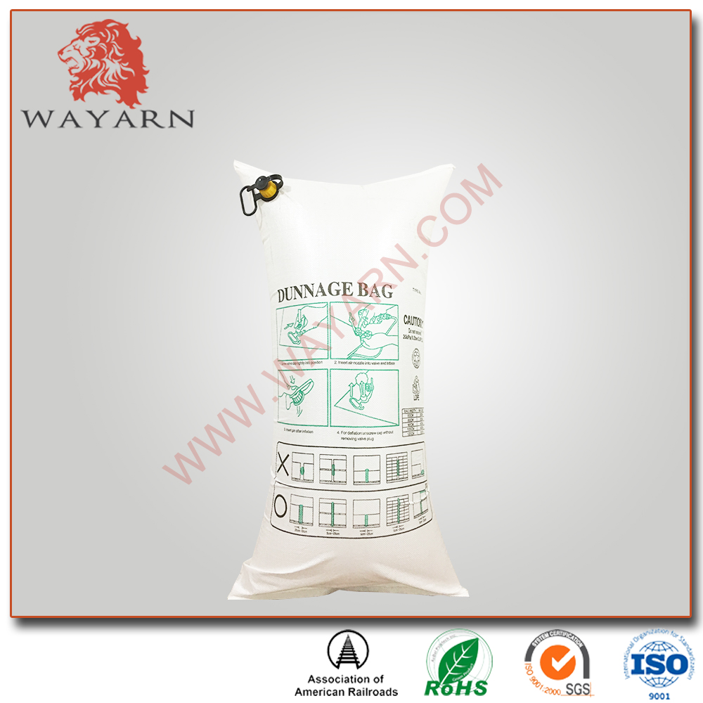 Wholesale price pp woven dunnage air bag for logistics