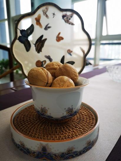 Xinjiang dried in-shell walnuts 32mm jumbo unsifed and washed