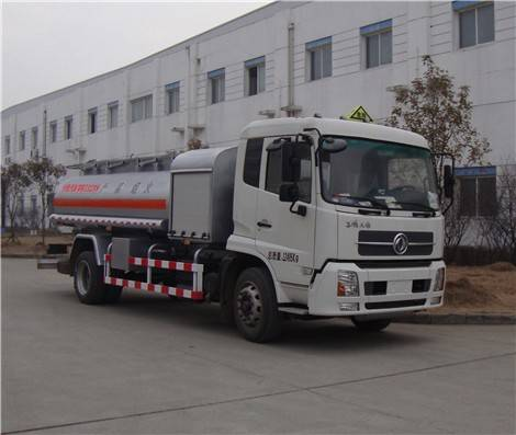 DONGFENG TIANJIN aluminum alloy fuel tanker truck