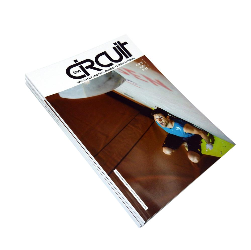 Well designed full color custom cheap magazine printing