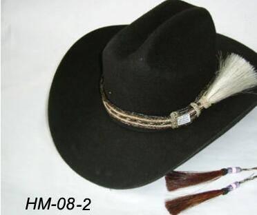 woven horsehair hat band horse hair tassel