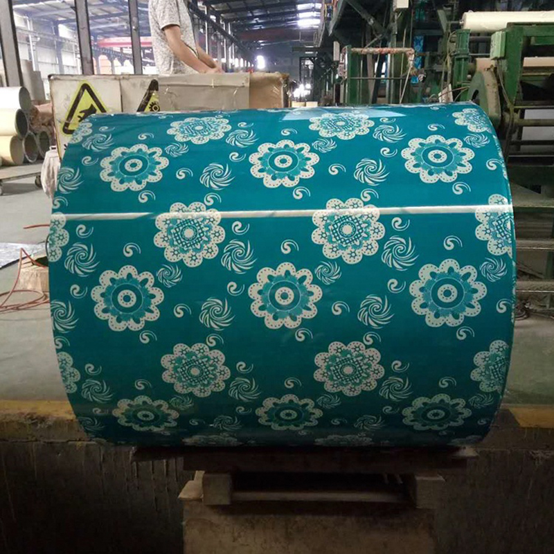 Flower Pattern PPGI for Wall Decorative Cladding with Cheap Price