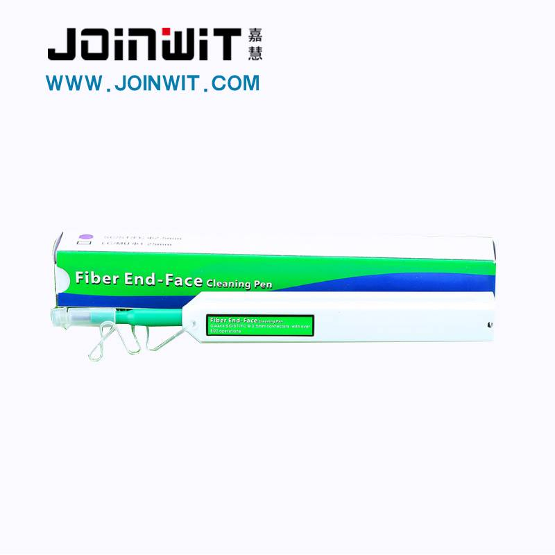 Joinwit 2.5mm Pen type Fiber Optic one-click cleaner