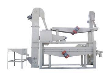 Amond/Huzelnut Dehulling & Separating Machine