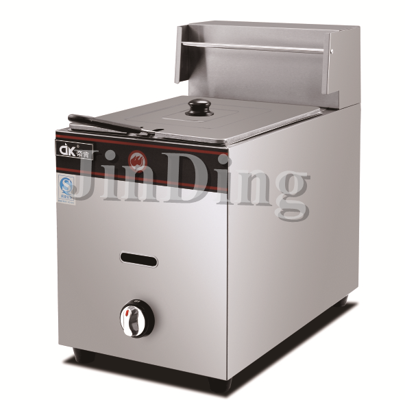 10 lter Gas Deep Fryer single tank JDK-71