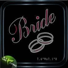Wedding Ring Hotfix Rhinestone for Wedding
