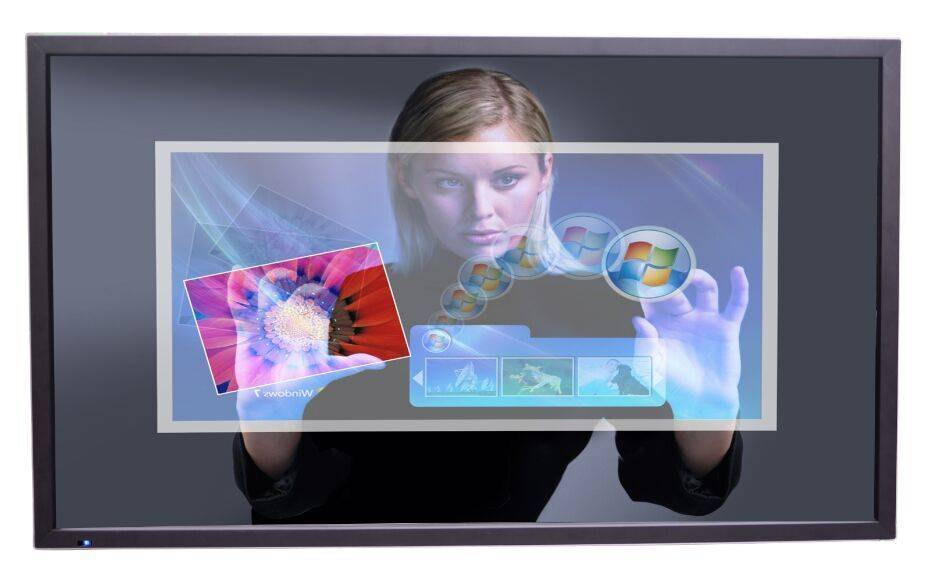 70 Inch lcd touch screen dispalys/monitor with 4 touch points and supporting CPU I3