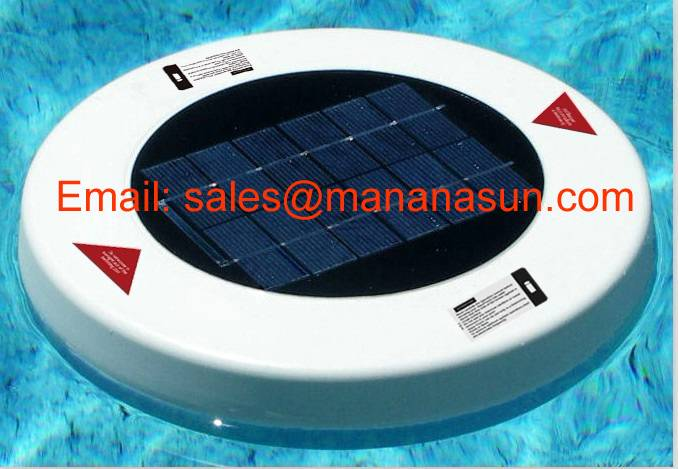 Solar Pool Ionizer Apply to Water Park, Aqua Park, Water Recreational Sports Center