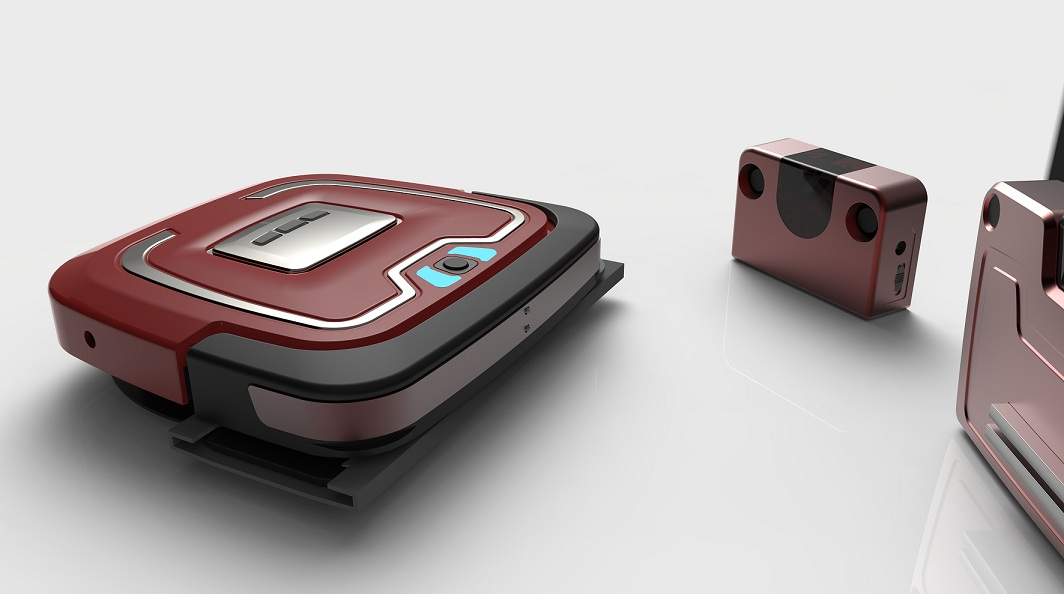 2017 Latest Smart Floor Mopping Robot with GYRO mapping Technology