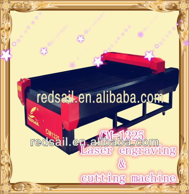 hot sale! Redsail laser cutting machine for soft metal CM1325 for sale with factory price,with CE&FD