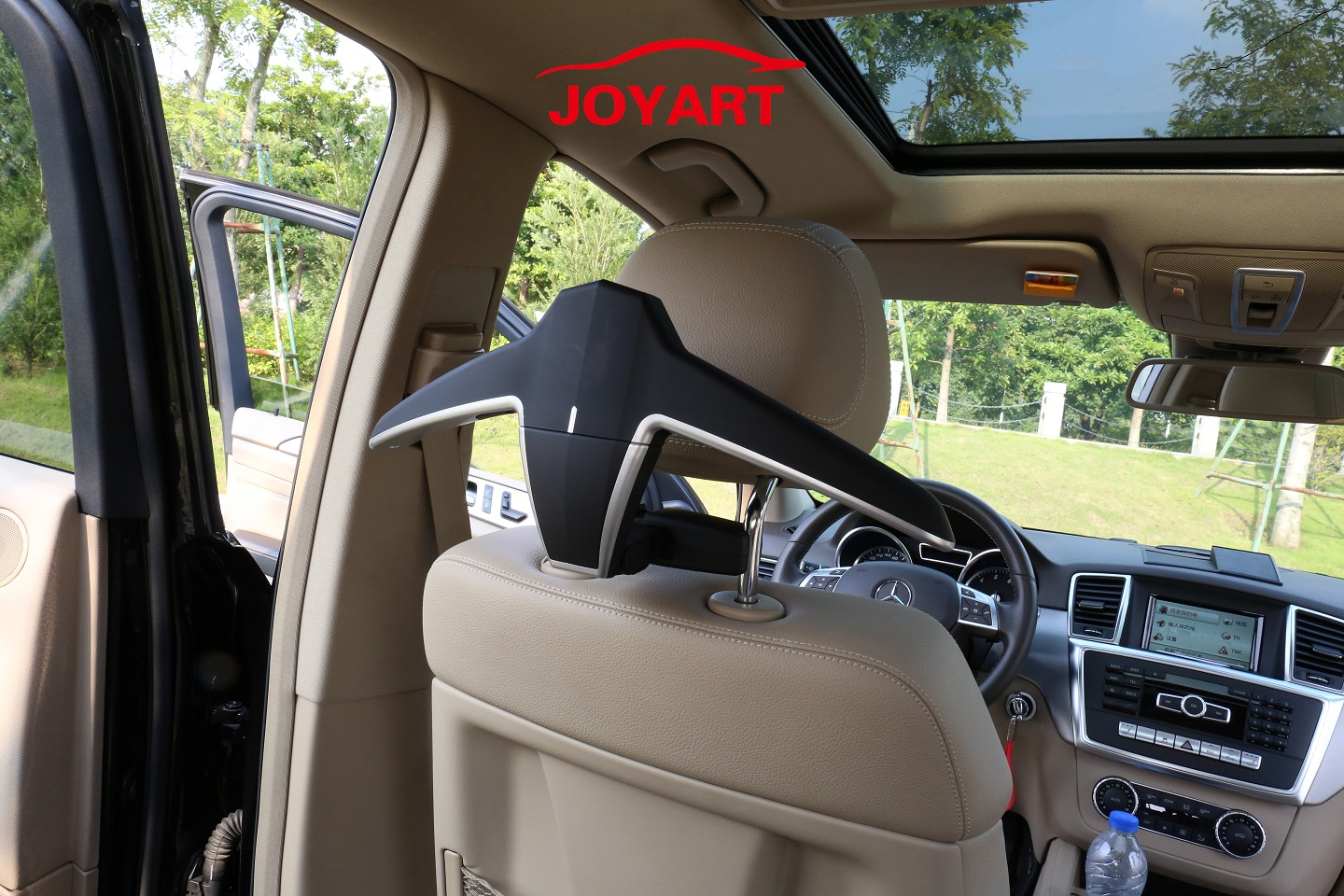 Joyart Car Back Seat Headrest Coat Hanger Multi-Purpose Storage Suit Jacket Clothes Hooks