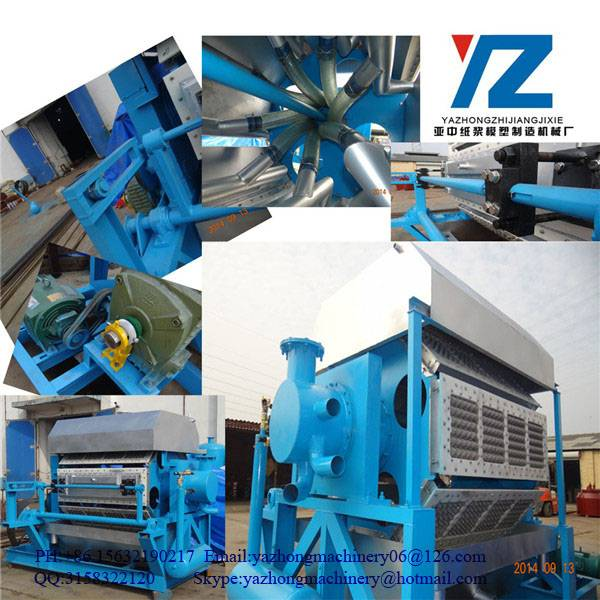 Paper Egg Tray Making Machinery For Packaging Eggs