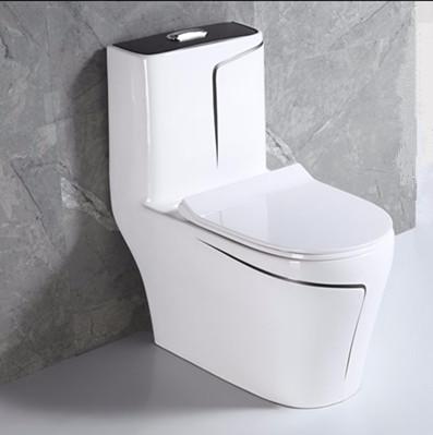Good quality sanitary ware one piece siphonic bathroom toilets