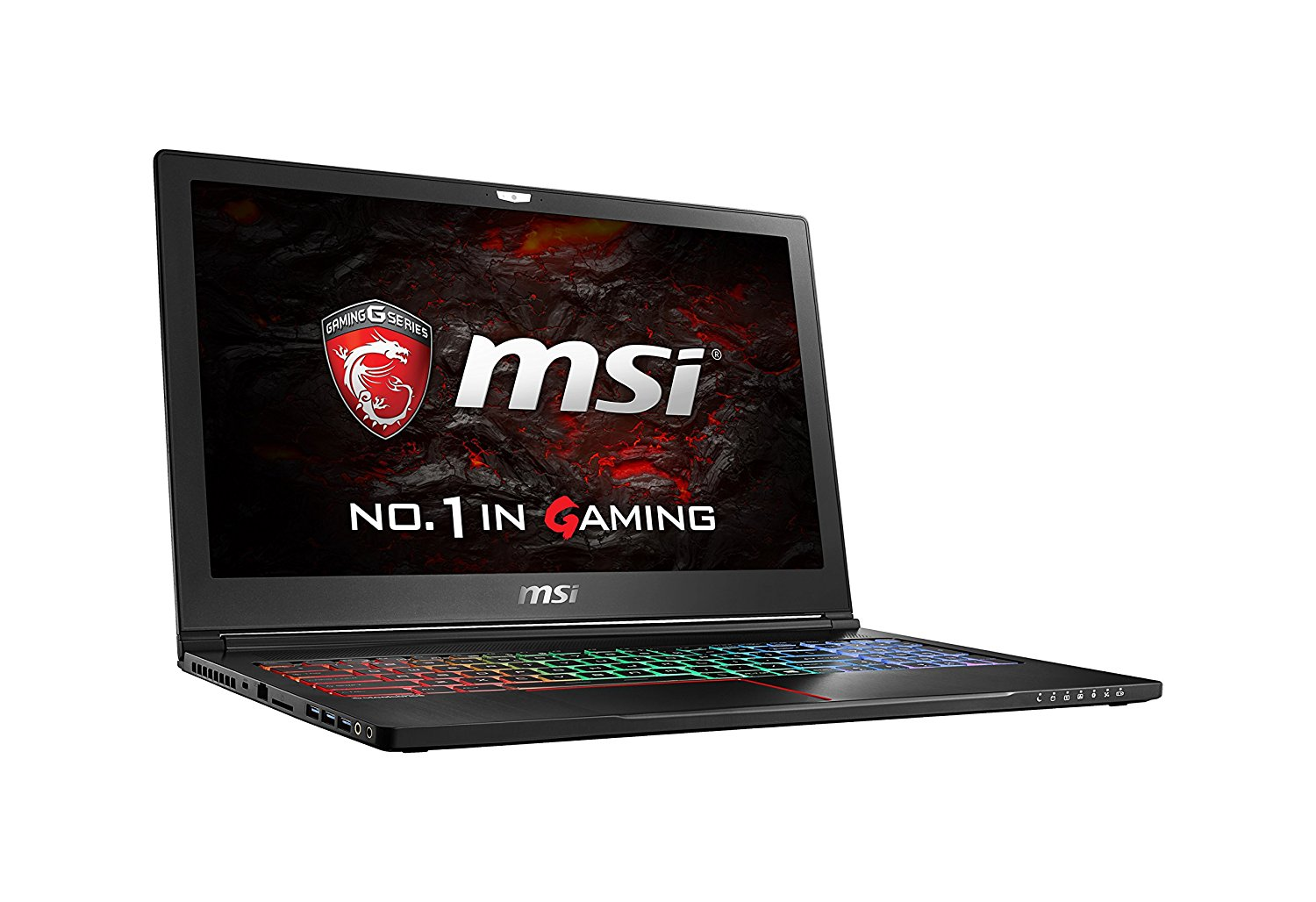 "MSI GS63VR Stealth Pro 4K-228 15.6"" 4K Display Thin and Light Gaming Laptop Core i7-7700HQ GTX 1060"