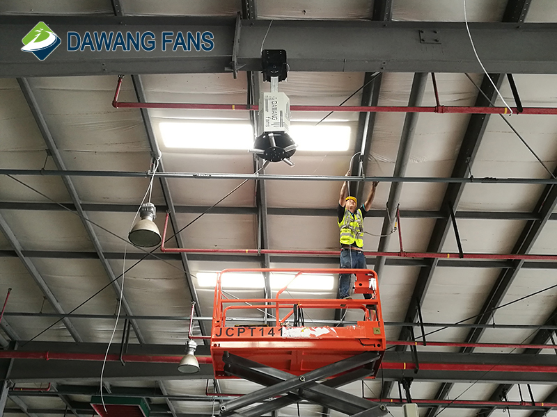 Hvls Industrial Big Ventilation Fan with High Volume of Air Wind