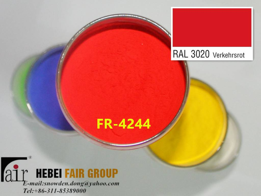 Outdoor Red Powder Coatings Use For Sport Equipment