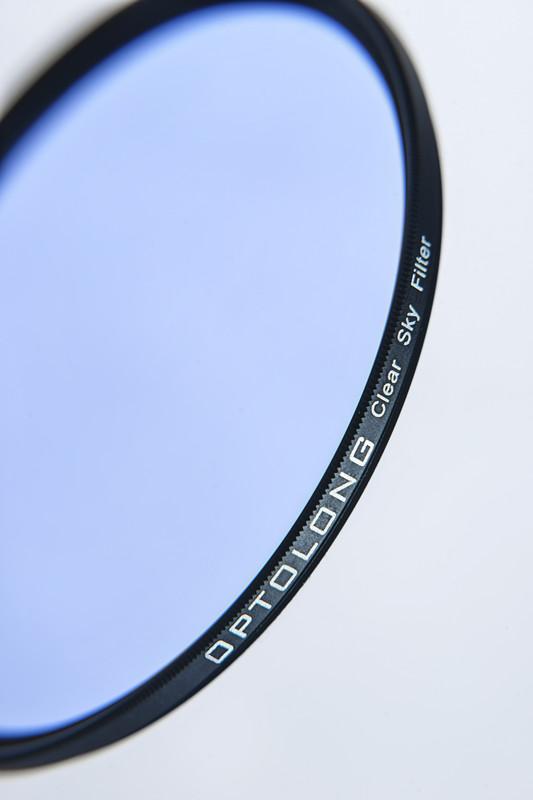 Clear sky light pollution filter 82mm uv lens