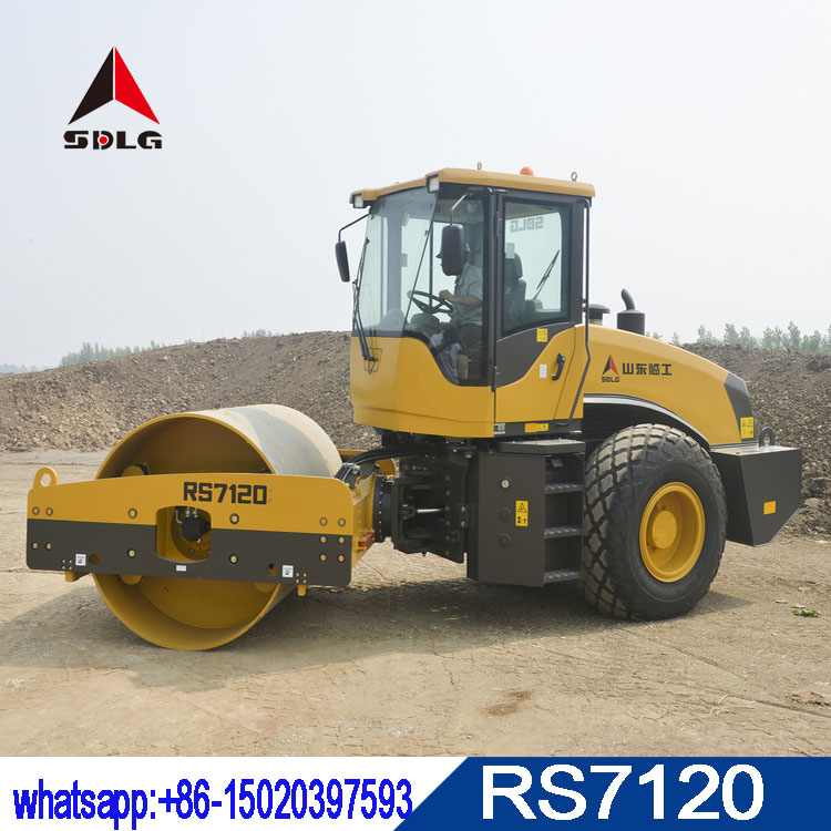 SDLG 12T hydraulic road roller RS7120 with best quality and low price for sale