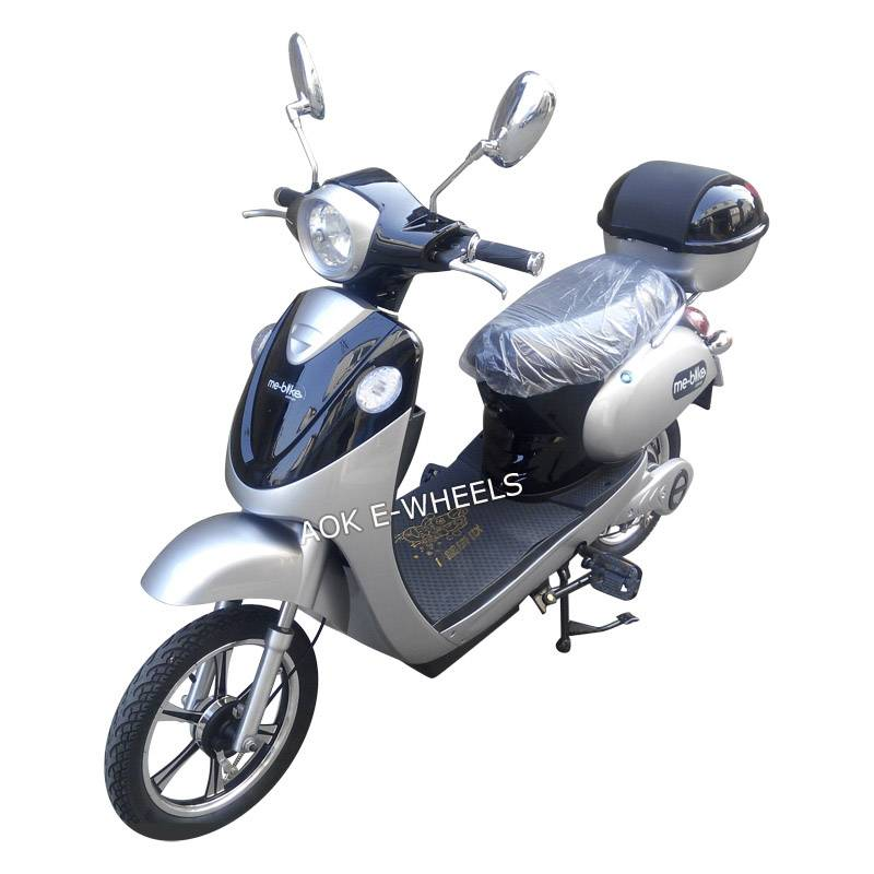 Hot 200W~500W Brushless Motor Electric Scooter with Pedal (ES-020)