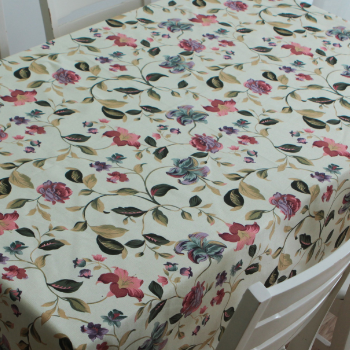Printed Tablecloth (Water/Oil Proof)