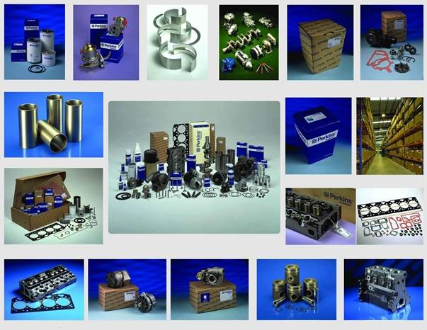 Genuine Perkins spare parts