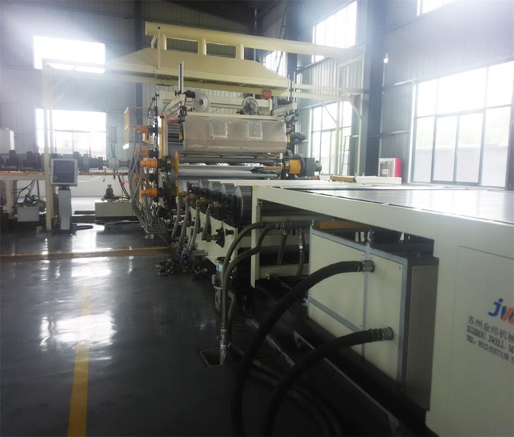 Polypropylene waterproofing membrane making machine