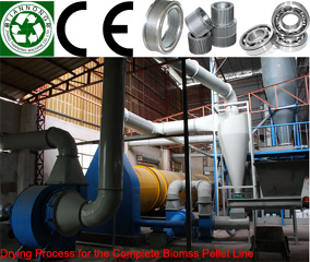 Complete Biomass Pelleting Line,Complete Biomass Pelleting Plant,Wood Pellet Manufacturing Line