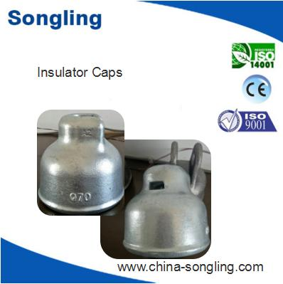 U70 insulator cap for suspended glass insulator