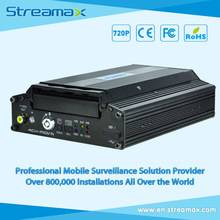 5 Channels HD Vehicle DVR Streamax X1-H0401 with GPS, 3G/4G/WIFI Optional