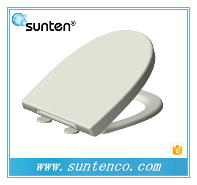 China Quick Release Soft Close Oval Toilet Seat Covers