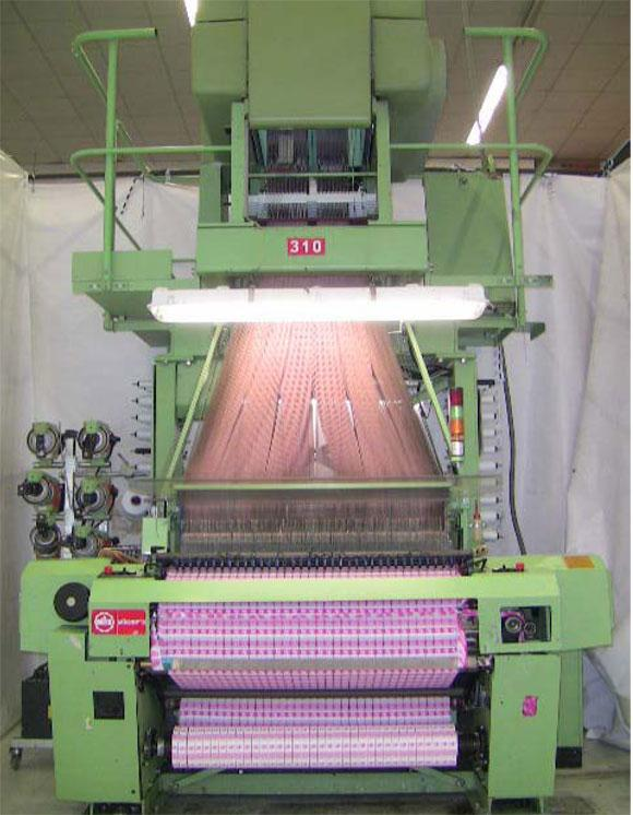 Muller MBJ3 Label Weaving Loom for sale