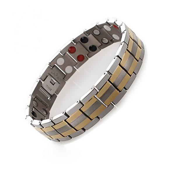 2016 hot sale energy health jewelry titanium magnetic bracelet, tungsten germanium energy bracelet ,