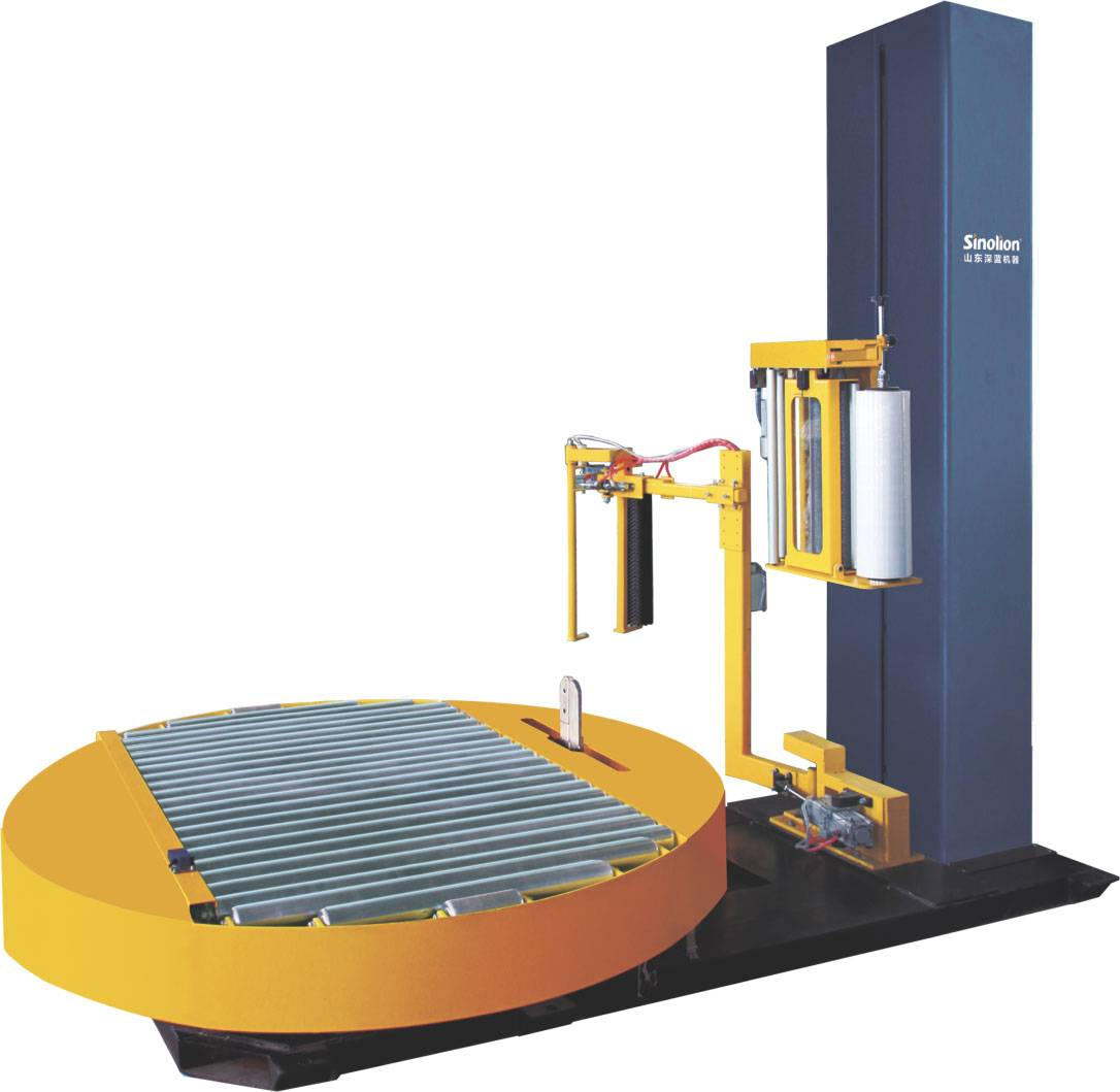 T1800FZ-PL Automatic Stretch Wrapping machine for Pallet packing