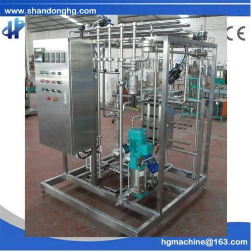 CE standard 1000t/h UHT Flash Pasteurizer