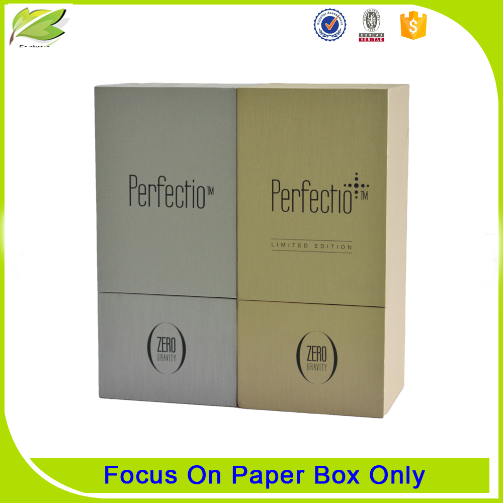 Special design popular cardboard paper cosmetic box