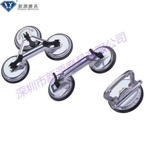 glass carrying suction cups, silver glass suction lifter for glass carrying