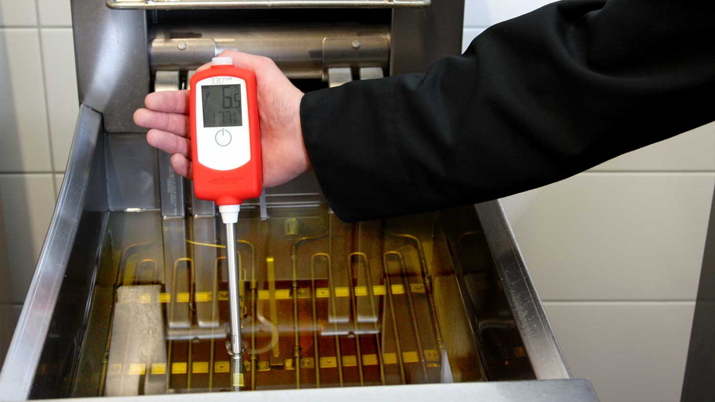 FOM 330 frying oil & shortening tester