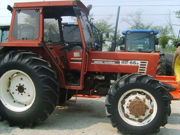 used Fiat tractor