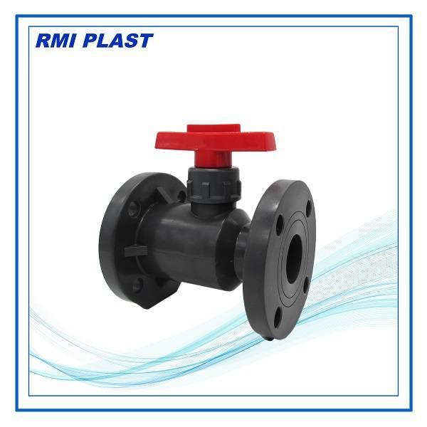 PVC,CPVC,PVDF,PP flange ball valve DIN PN10,ANSI CL150,JIS 10K