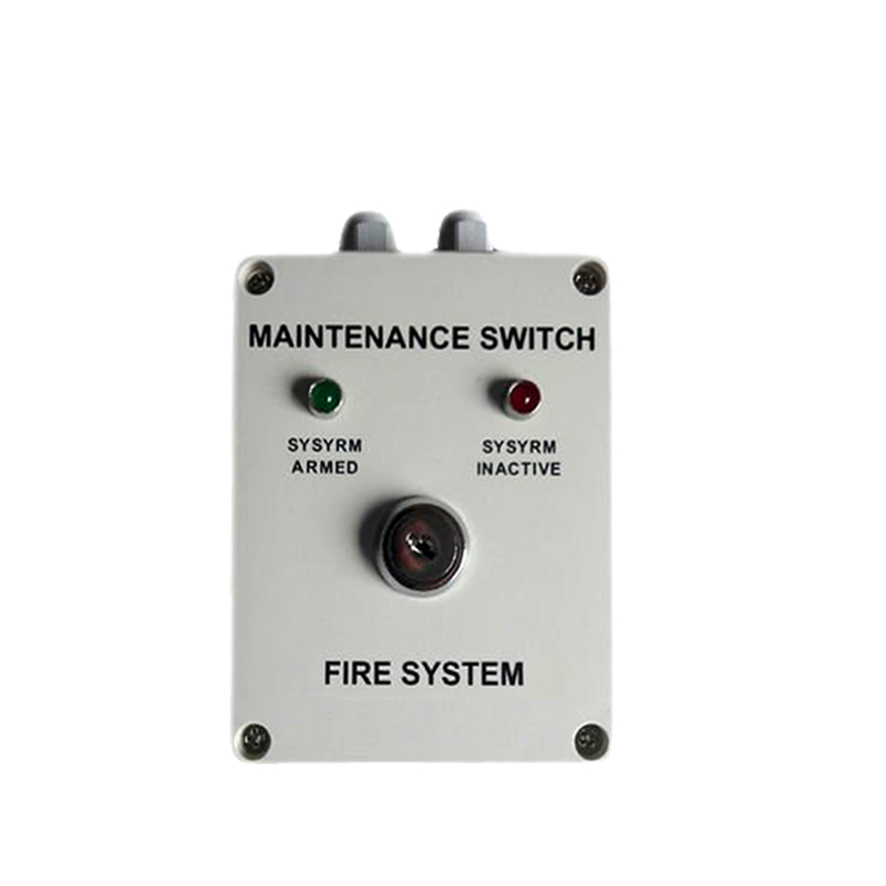 Automatic Gas Extinguisher fire suppression FM200 system Maintance Switch